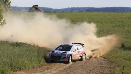 Dani Sordo, Rallye de Polonia 2015.