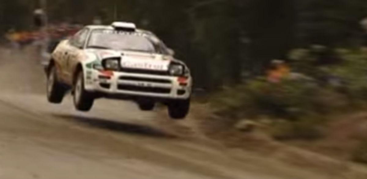 Juha Kankkunen Rallye de los 1000 Lagos 1993.