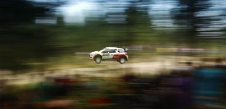 Kris Meeke, Rallye de FInlandia 2014.