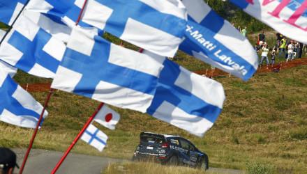 Mikko Hirvonen, Rallye de Finlandia 2014.