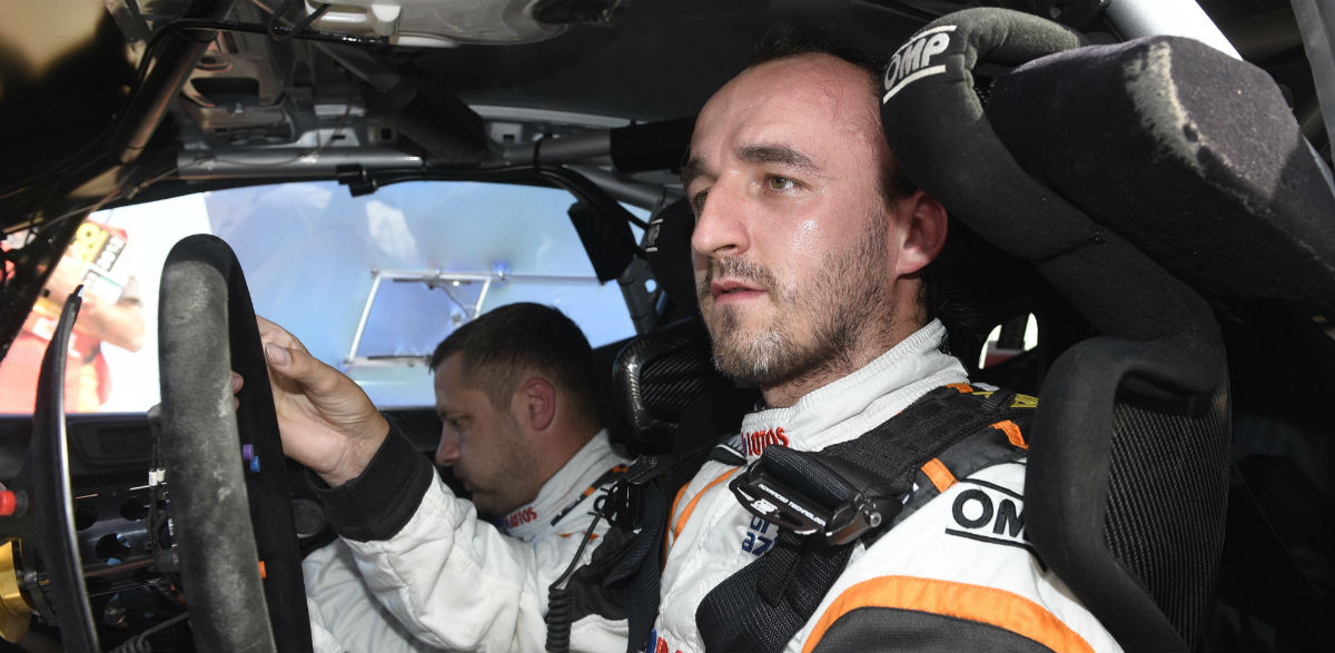 Rober Kubica, Rallye de Polonia 2015.