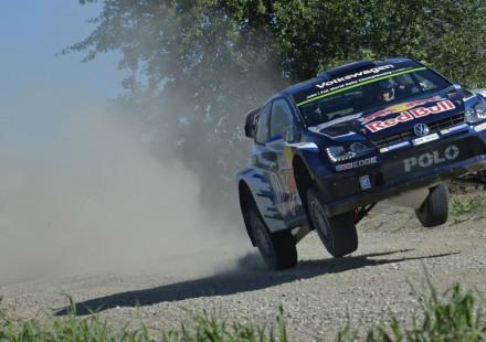 Sebastien Ogier, Rallye de Polonia 2015.