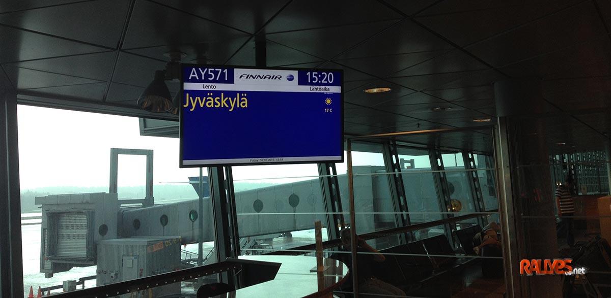 Camino a Jyväskylä, día 1