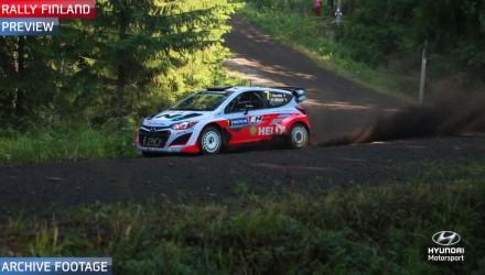 Previa del Rally de Finlandia por Hyundai