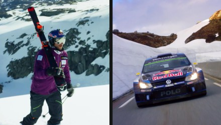 Video, Andreas Mikkelsen contra el esquiador Aksel Lund Svindal