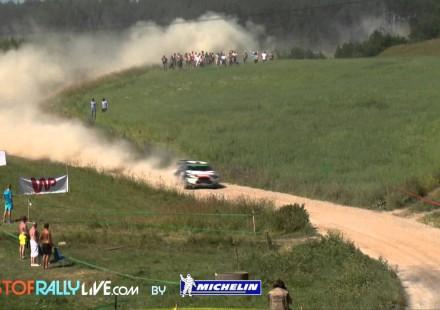 Video de la segunda etapa del Rally de Polonia