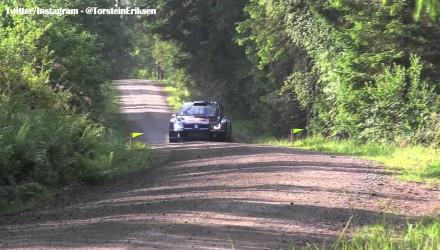 Video del shakedown del Rally de Finlandia 2015