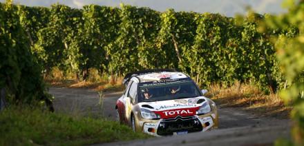 Kris Meeke, Rallye de Alemania 2014.