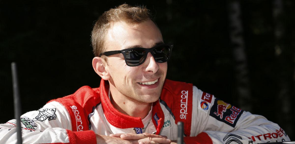 Stephane Lefebvre, Rallye de Finlandia 2015.