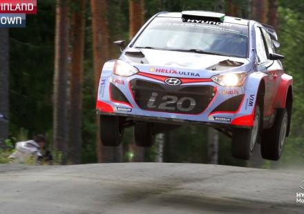 Vídeo, los mejores momentos de Hyundai en el Rally de Finlandia 2015