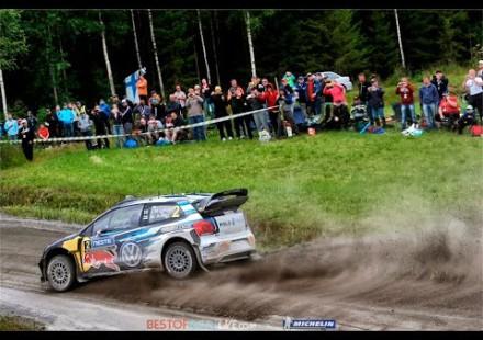 Video, segunda etapa del Rally de Finlandia