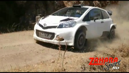 Video, tests de Toyota en Málaga