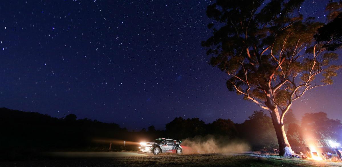 Kris Meeke, Rallye de Australia 2015.