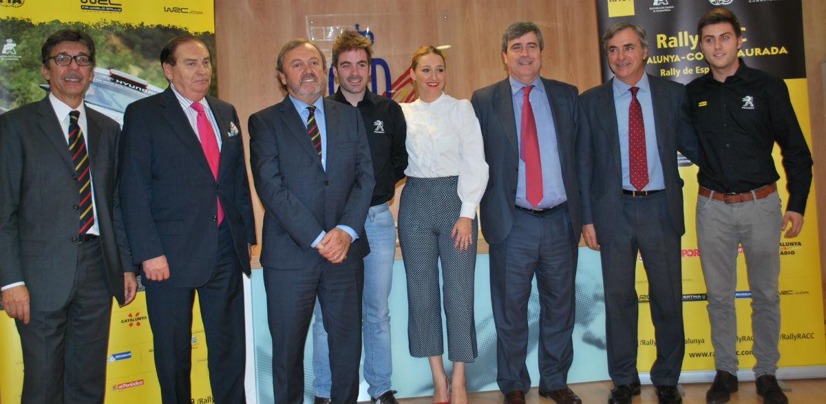 Presentación en Madrid del Rallye RACC