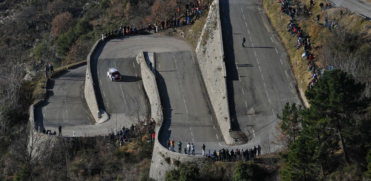 Stephane Lefevre, Rallye Montecarlo 2015.