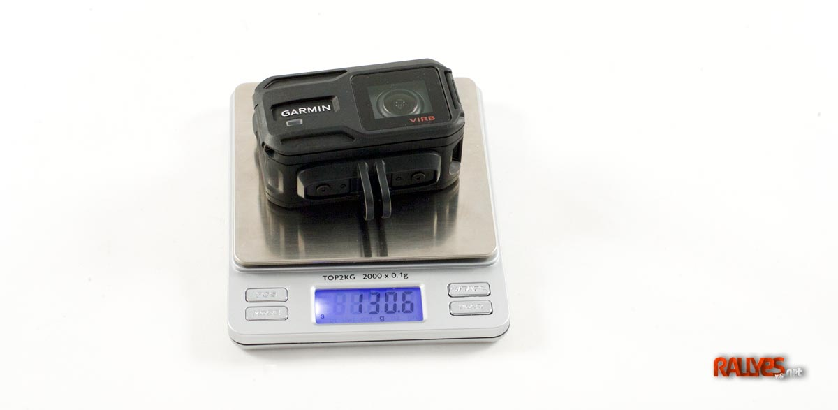 garminvirbxe-prueba-peso