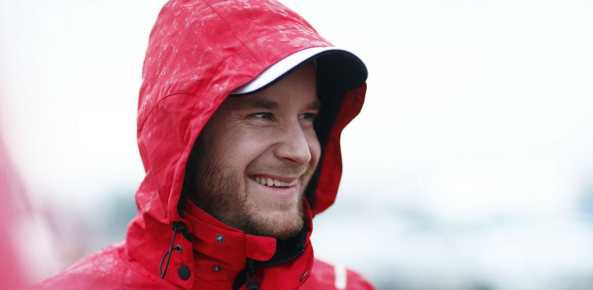 Mads Ostberg, Rallye de Gales 2015.