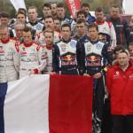 El WRC rinde homenaje a las víctimas de París