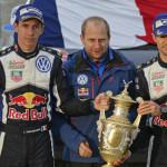 Rallye de Gales: sombría victoria para Ogier