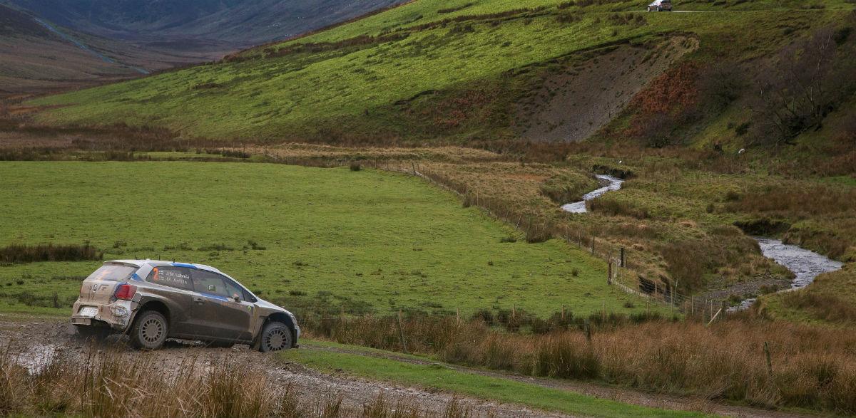Volkswagen, Rallye de Gales 2014.