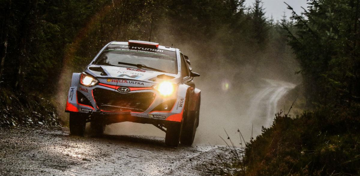 Rallye de Gales: un pequeño avance en vídeo