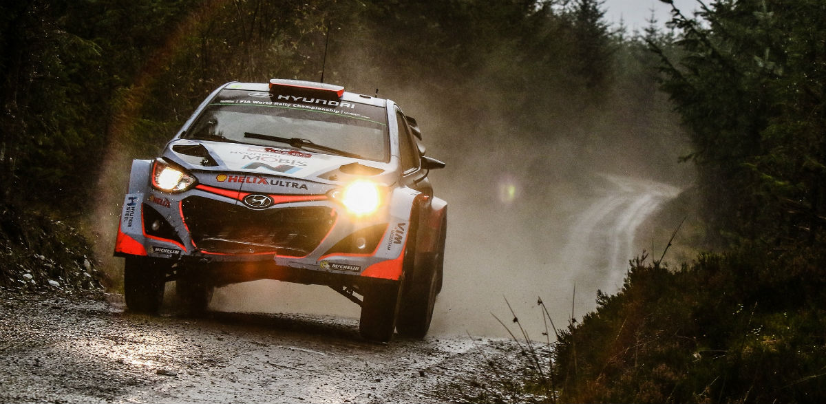 Dani Sordo, Rallye de Gales 2015.