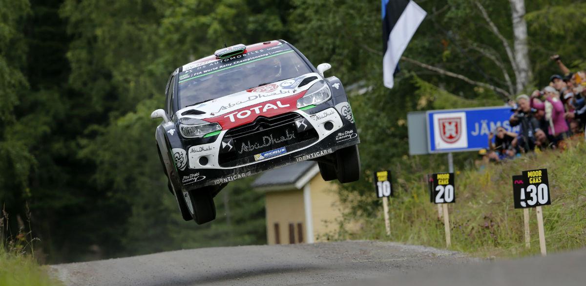 Kris Meeke, Rallye de Finlandia 2015.