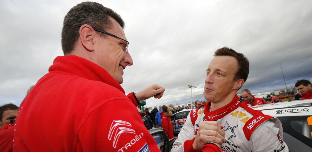 Kris Meeke, Rallye de Gales 2015.