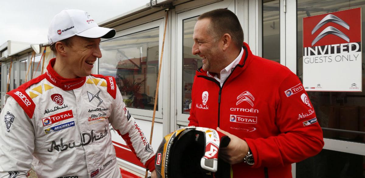 Kris Meeke e Yves Matton, Rallye de Gales 2015.