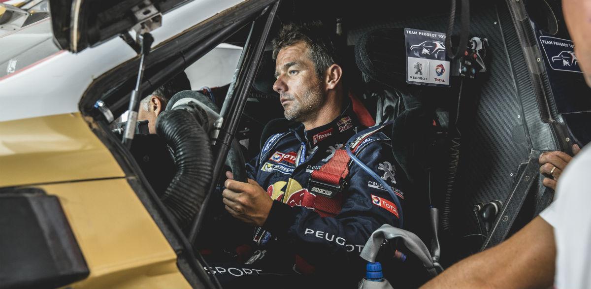 Sebastien Loeb en el Peugeot 2008 DKR.