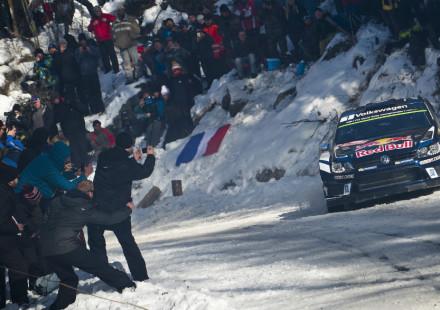 Sebastien Ogier, Rallye Montecarlo 2016.