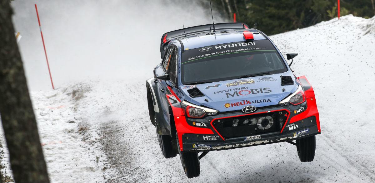Dani Sordo, Rallye de Suecia 2016.