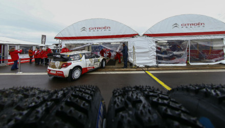 Kris Meeke, Rallye de Suecia 2015.