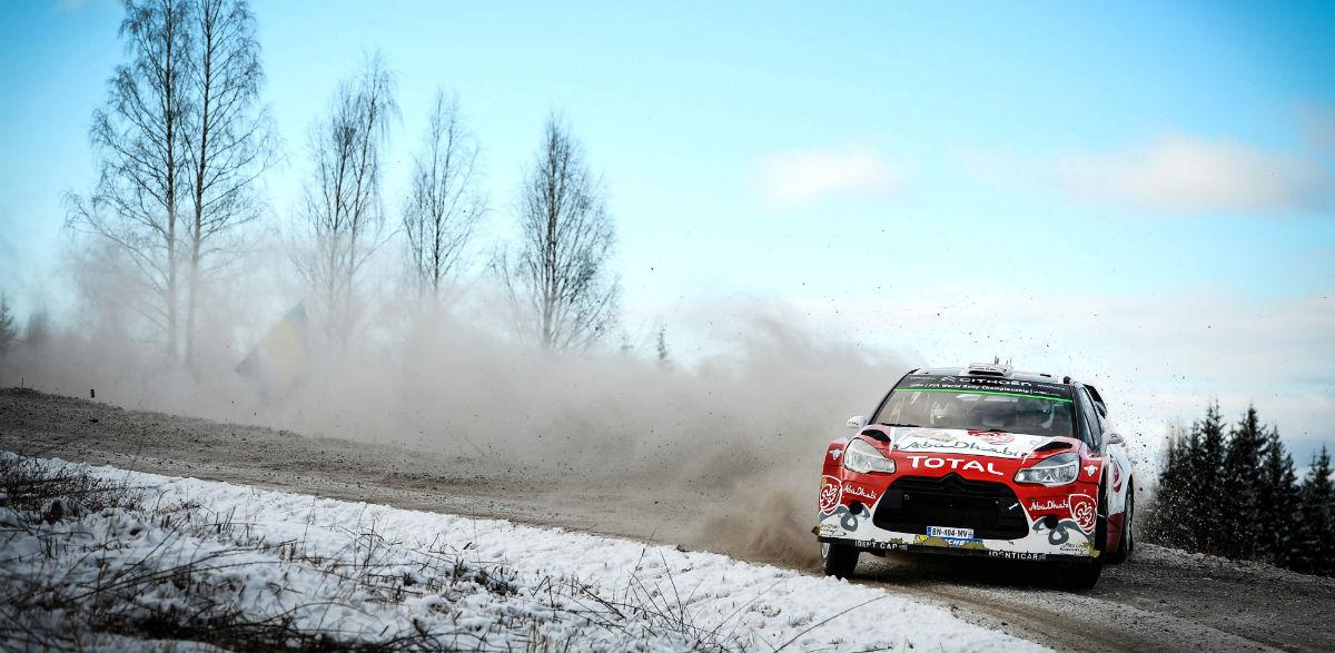 Kris Meeke, Rallye de Suecia 2016.