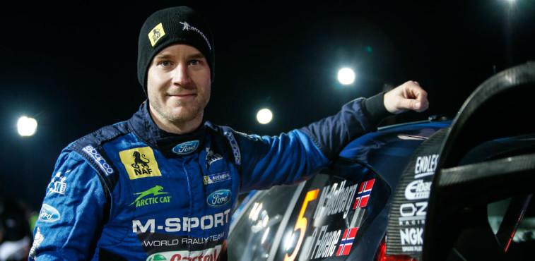 Mads Ostberg, Rallye de Suecia 2016.