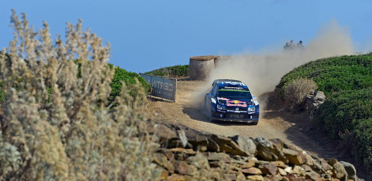 Sebastien Ogier, Rallye de Italia 2015.