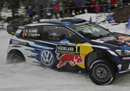 Sebastien Ogier, Rallye de Suecia 2016.