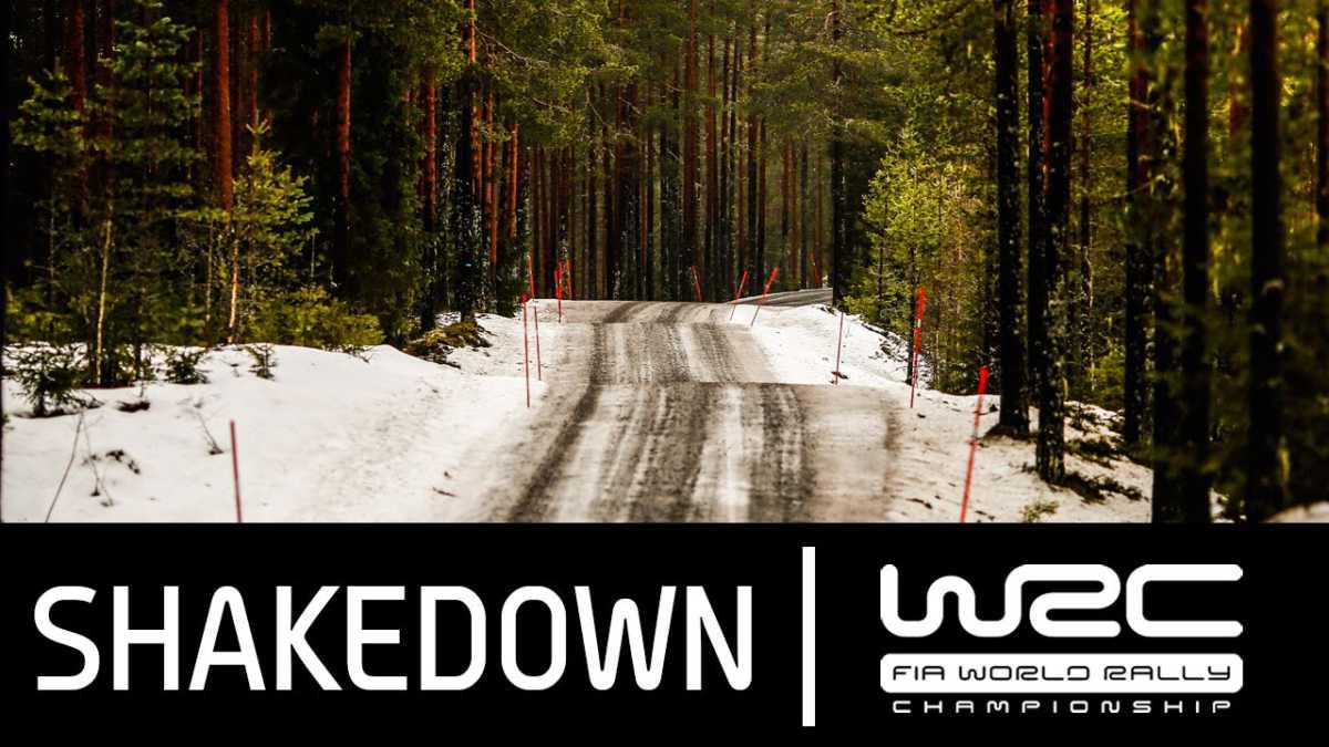 Video, «shakedown» del Rallye de Suecia
