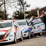 A punto de arrancar la Peugeot 208 Rally Cup en Francia