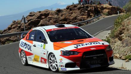 Cristian García, Rallye Islas Canarias 2016.