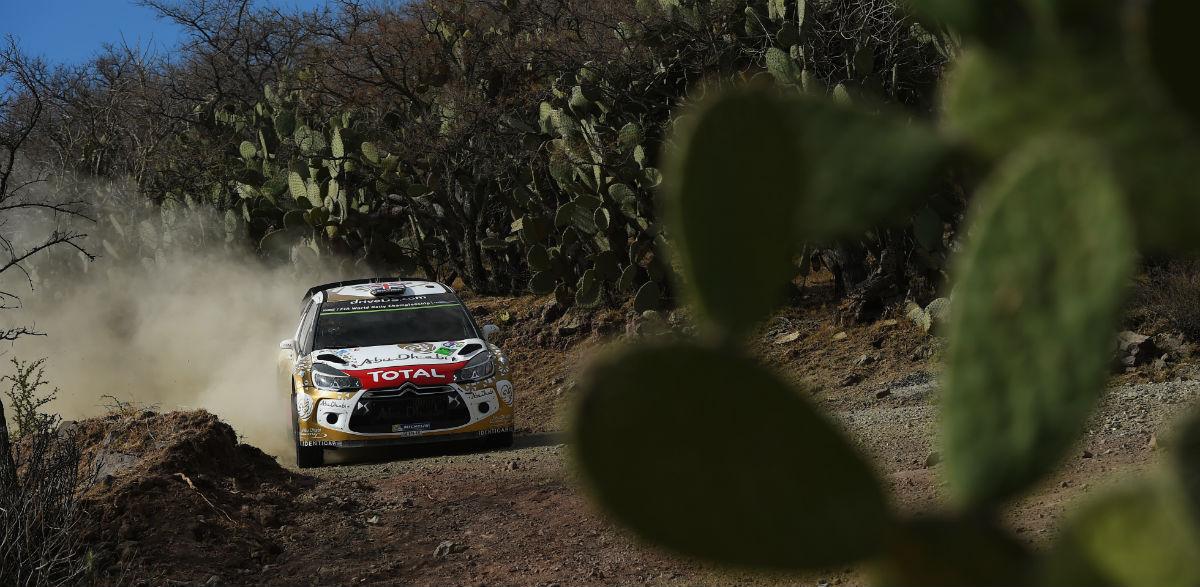 Kris Meeke, Rallye de México 2015.