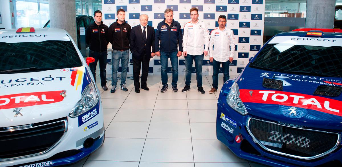 Peugeot España Racing Team, Carlos Sainz