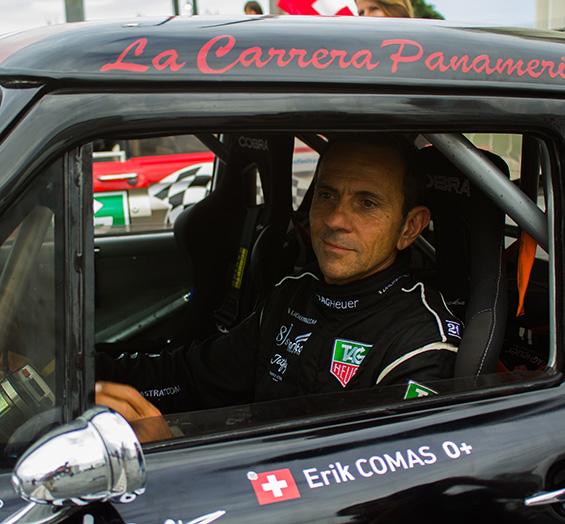Erik Comas en el 64º Rally Costa Brava