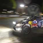 Los pilotos de Volkswagen hablan después de la primera etapa del Rallye de México