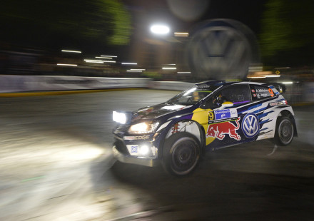 Andreas Mikkelsen (NOR), Anders Jæger (NOR) Volkswagen Polo R WRC (2016) WRC Rally Mexico 2016