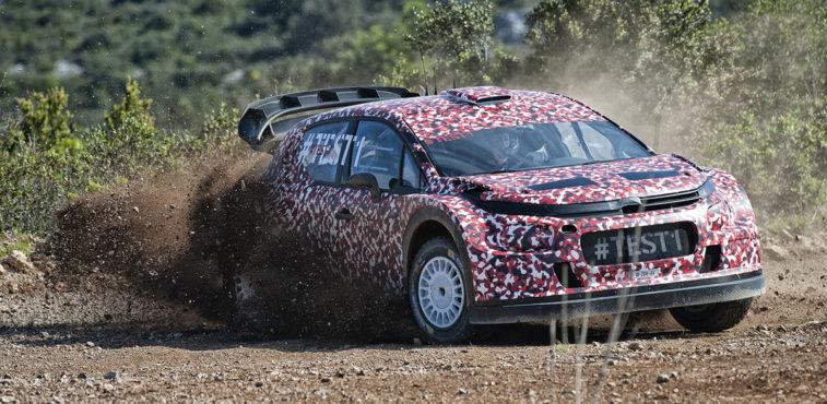 Citroân prototipo WRC 2017 (2)