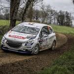 Pepe López y Borja Rozada encaminados al título de la 208 Rallye Cup 2016
