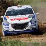 El equipo Peugeot España Racing a por todas en el Rallye de Antibes