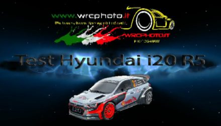Video, tests del Hyundai i20 R5 en Cerdeña