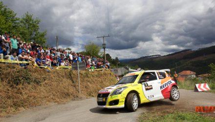 Adrián Díaz 49 Rallye de Ourense